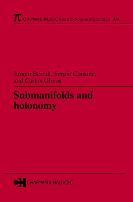 Submanifolds and Holonomy book cover