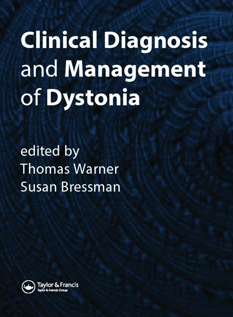 Clinical Diagnosis and Management of Dystonia book cover