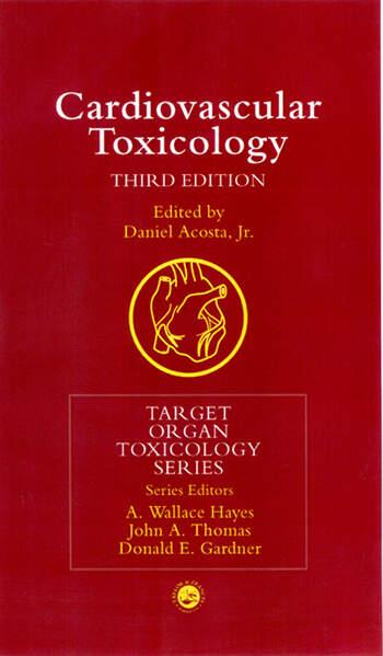 Cardiovascular Toxicology book cover