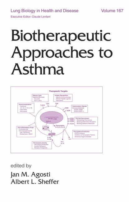 Biotherapeutic Approaches to Asthma book cover
