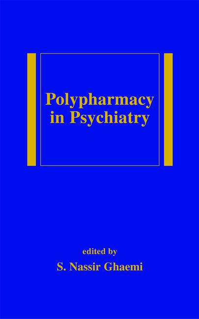 Polypharmacy in Psychiatry book cover