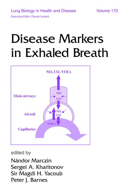 Disease Markers in Exhaled Breath book cover
