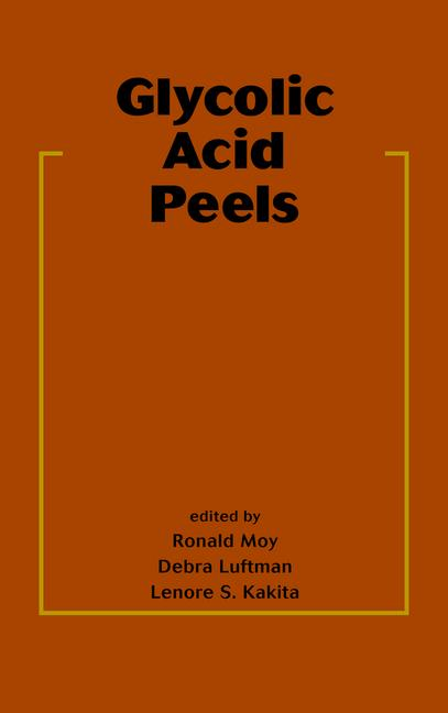 Glycolic Acid Peels book cover