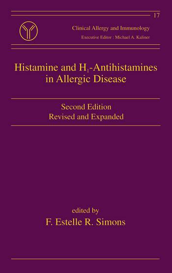 Histamine and H1-Antihistamines in Allergic Disease book cover