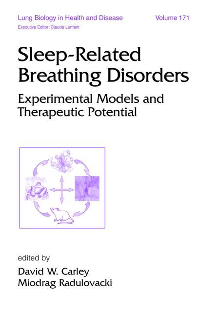 Sleep-Related Breathing Disorders Experimental Models and Therapeutic Potential book cover