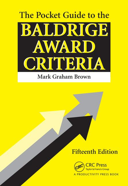 The Pocket Guide to the Baldrige Criteria (5-Pack) book cover