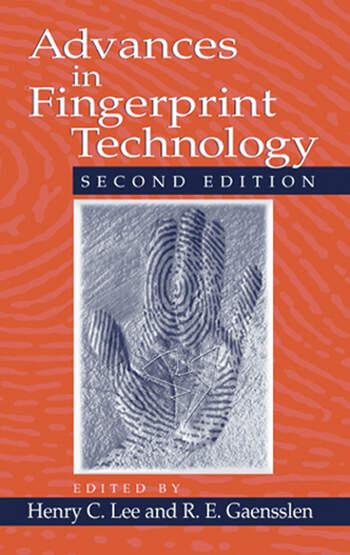 Advances in Fingerprint Technology book cover