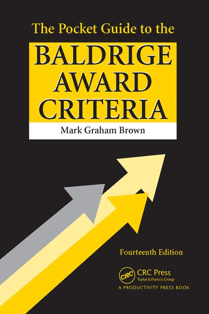 The Pocket Guide to the Baldrige Award Criteria book cover