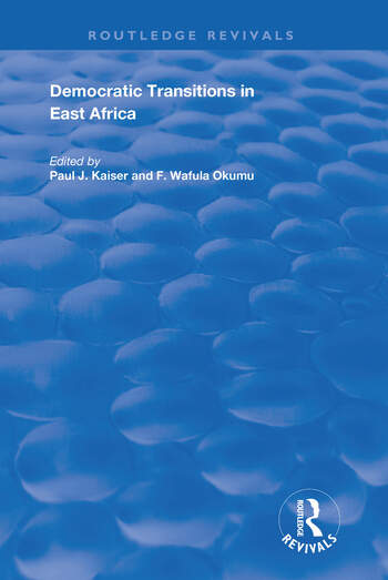 Democratic Transitions in East Africa book cover