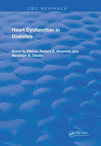 Heart Dysfunction In Diabetes book cover