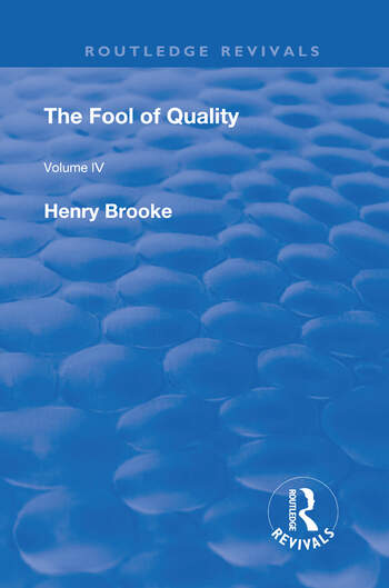 The Fool of Quality Volume 4 book cover