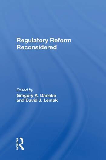 Regulatory Reform Reconsidered book cover