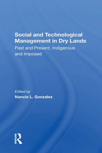 Social and Technological Management in Dry Lands book cover