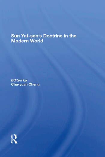 Sun Yat-sen's Doctrine In The Modern World book cover