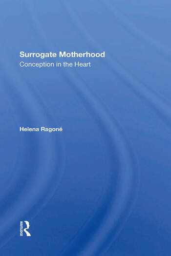Surrogate Motherhood Conception In The Heart book cover