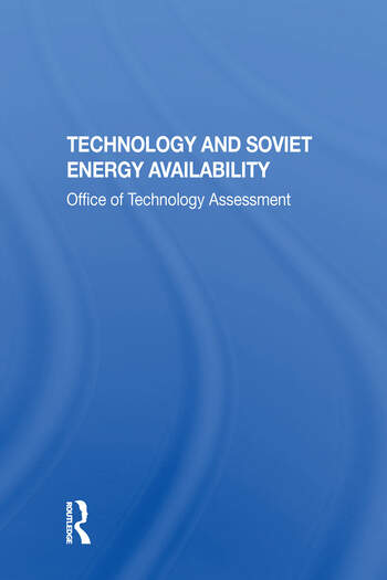 Technology And Soviet Energy Availability book cover