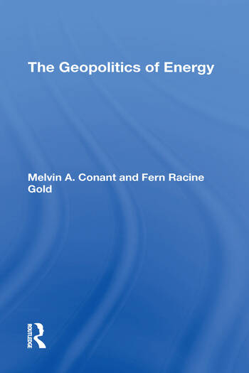 The Geopolitics Of Energy book cover