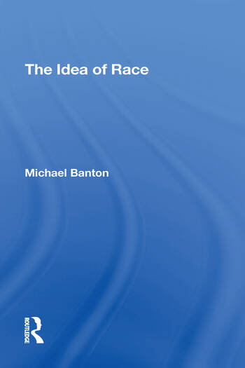 The Idea Of Race book cover