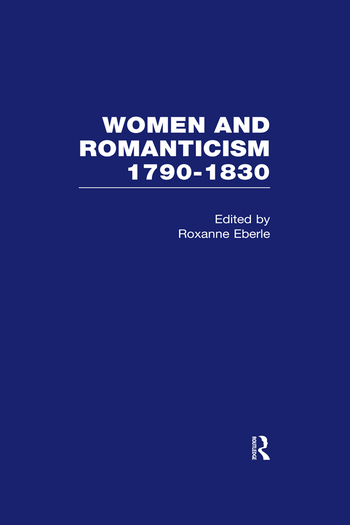 Women & Romanticism Vol5 book cover