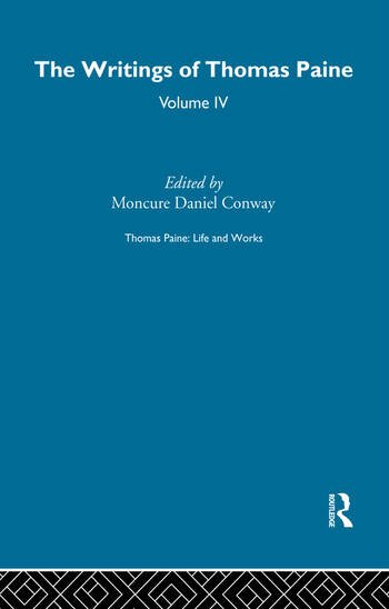 Thomas Paine: Life and Works book cover