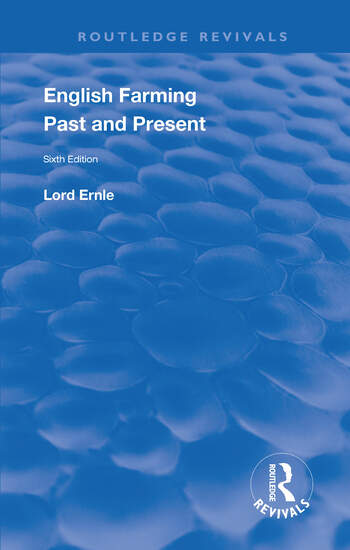 English Farming : Past and Present New (sixth) Edition book cover