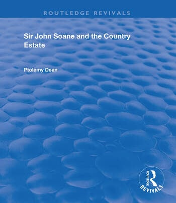 Sir John Soane and the Country Estate book cover
