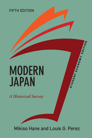 Modern Japan, Student Economy Edition A Historical Survey book cover