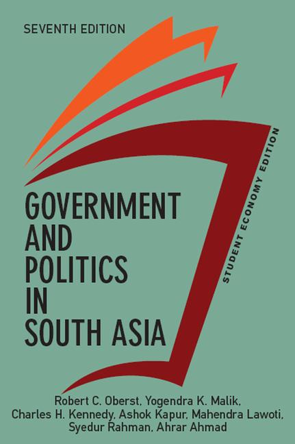 Government and Politics in South Asia, Student Economy Edition book cover