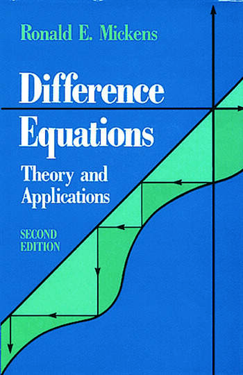 Difference Equations, Second Edition book cover