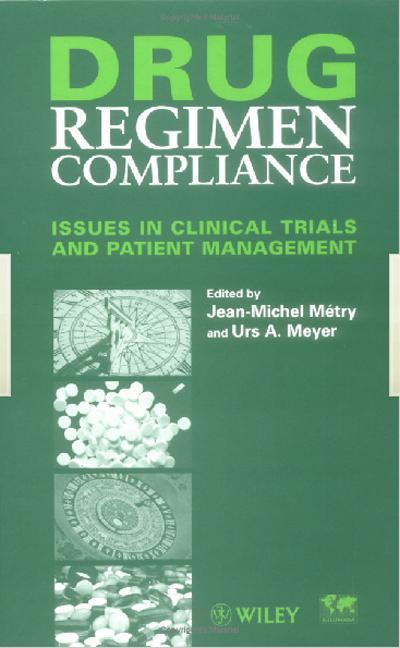Drug Regimen Compliance book cover