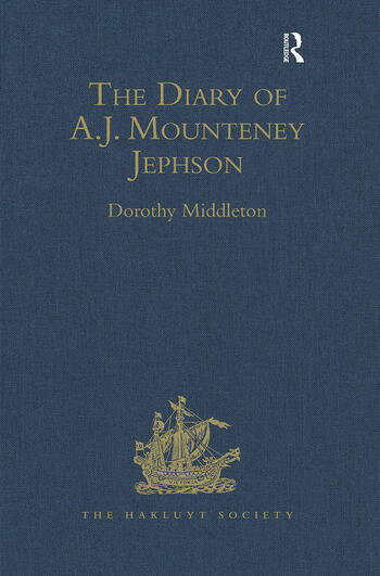 The Diary of A.J. Mounteney Jephson Emin Pasha Relief Expedition, 1887–1889 book cover