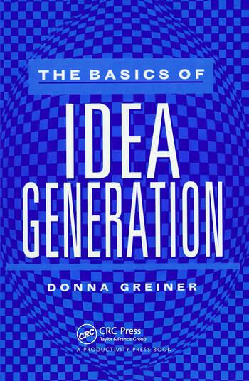 The Basics of Idea Generation book cover