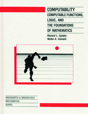 Computability Computable Functions Logic and the Foundations of Math book cover