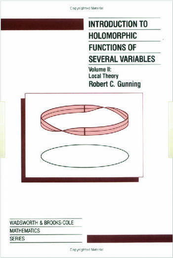 Introduction to Holomorphic Functions of Several Variables, Volume II book cover