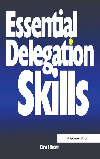 Essential Delegation Skills book cover