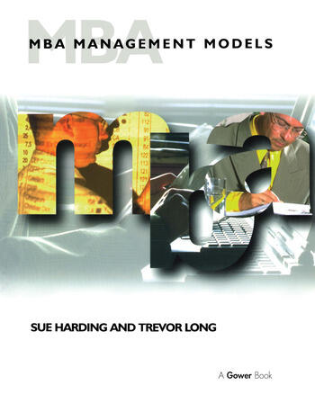 MBA Management Models book cover