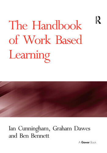 The Handbook of Work Based Learning book cover