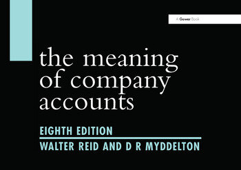 The Meaning of Company Accounts book cover
