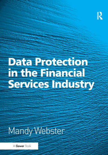 Data Protection in the Financial Services Industry book cover