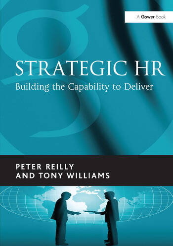 Strategic HR Building the Capability to Deliver book cover