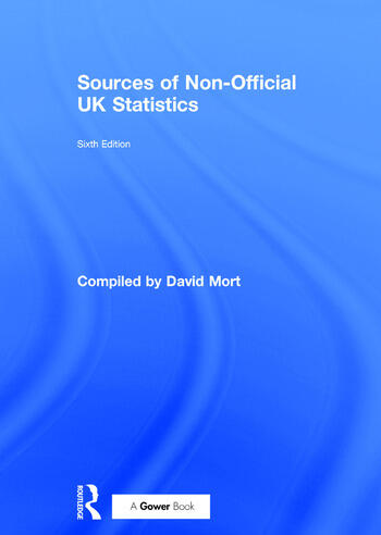 Sources of Non-Official UK Statistics book cover