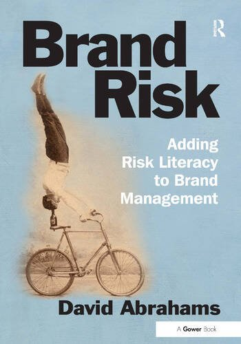 Brand Risk Adding Risk Literacy to Brand Management book cover