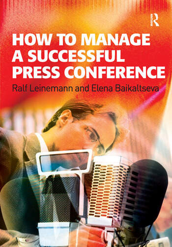 How to Manage a Successful Press Conference book cover