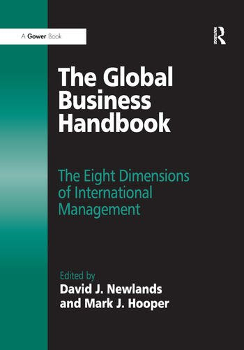The Global Business Handbook The Eight Dimensions of International Management book cover