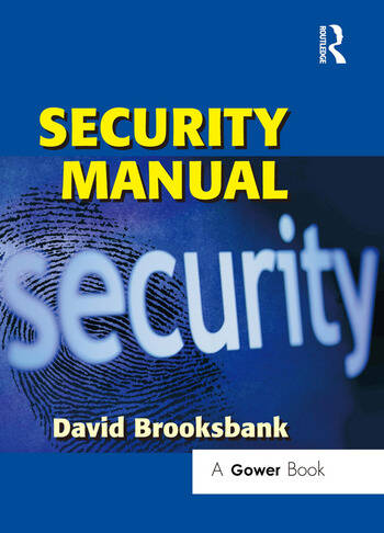 Security Manual book cover