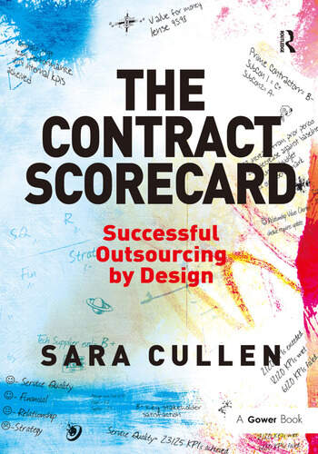 The Contract Scorecard Successful Outsourcing by Design book cover