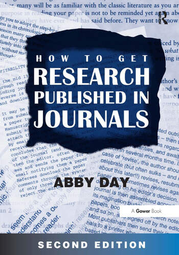 How to Get Research Published in Journals book cover