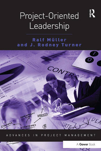 Project-Oriented Leadership book cover