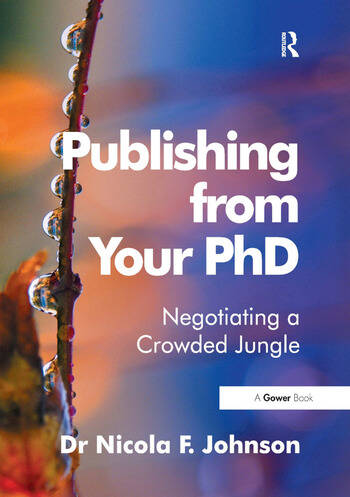 Publishing from Your PhD Negotiating a Crowded Jungle book cover