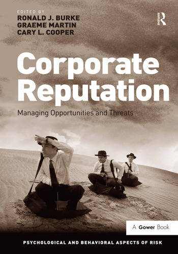 Corporate Reputation Managing Opportunities and Threats book cover